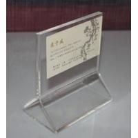 Wholesale Perspex Display Small Acrylic Tabletop Menu Holders For Promotional from china suppliers
