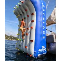 Wholesale OEM Inflatable Climbing Wall For Water Park Yacht Party Outdoor Sport from china suppliers