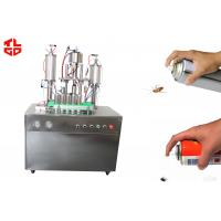Wholesale Insecticide Aerosol Spray Filling Machine from china suppliers