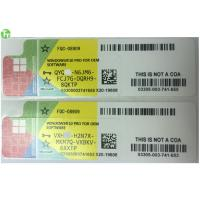 Wholesale Microsoft Windows 10 Professional Product Key Code Product License Sticker from china suppliers