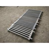 Quality Cr-Mo Alloy Steel Castings Grizzly Screen slot with Hardness HB325-375 for sale