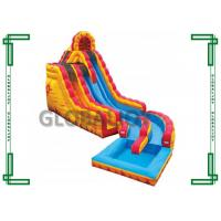 Wholesale Gaint Commercial Grade Inflatable Water Slide With Pool For Adult  inflatable water slide from china suppliers
