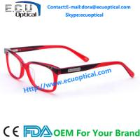 Buy cheap Branded latest acetate women gentleman optical glasses frame eyewaer frames factory from wholesalers