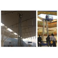Wholesale Aerial Work Hydraulic Lift Ladder Four Mast 16m Working Height For Maintenance Service from china suppliers