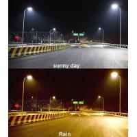 Quality CCT adjustable color change LED street light with solar energy for outdoor use for sale