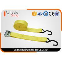 """Wholesale 1.5"""" Muticolor Zinc Alloy Cam Buckle Tie Down Strap with S hooks , Ratcheting Cargo Straps from china suppliers"""