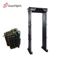 Quality Adjustable High Sensitivity Full Body Scanner / Security Metal Detector Gate ROHS / FCC For School for sale