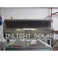 Quality Stainless Steel Compact Pressurized Flat-Plate Thermo Solar Water Heater with 100L capacity for sale