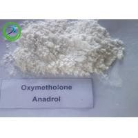 Wholesale White Oxymetholone powder Oral Anabolic Steroids for bodybuilding CAS 434-07-1 from china suppliers