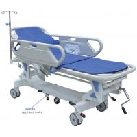 Wholesale Luxurious Manual Patient Transport Stretcher With Rise-And-Fall Guide Wheels from china suppliers