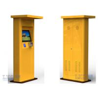 Wholesale Interactive Touch Screen Half Outdoor Kiosk Waterproof With TFT LCD Monitor from china suppliers