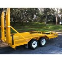 Wholesale Indespension 8x5 Plant Equipment Trailer , Construction Equipment Hauling Trailers from china suppliers