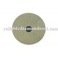 Wholesale Electroplated Flexible Round Diamond Wet Polishing Pads 100mm Diameter from china suppliers