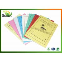 Quality A5 210mm * 148mm Size Inner Lined Exercise Books for Education Institutions for sale