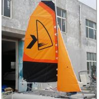 Wholesale Easy Take Inflatable Sailing Boat Orange Sailing Cat With Fiberglass Rudder from china suppliers