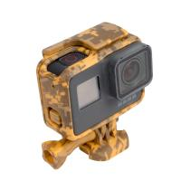 Wholesale Standard Protective Camouflage Yellow Action Camera Housing Frame Case For GoPro Hero 5 from china suppliers