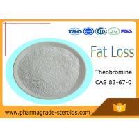 Wholesale CAS 83-67-0 Pharmaceutical Raw Materials Theobromine for Food Additives Fat Loss from china suppliers