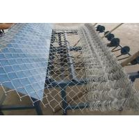 Buy cheap Decorative chain link wire fencing 9 gauge galvanized from wholesalers