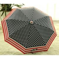 Wholesale New-Flag-Folding-Windproof-Anti-UV-Clear-Rain-Korean-Manual-Umbrella from china suppliers