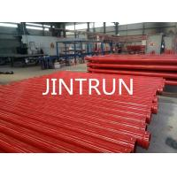 Quality St52 Concrete Pump Seamless Steel Pipe DN125 , 4.5mm / 5.0mm Thickness for sale
