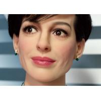 Quality Customization Handmade Lifesize Realistic Wax Sculptures Of Anne Hathaway for sale