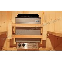 220V Stainless Steel Electric Sauna Heater 9kw Cuboid for sauna room