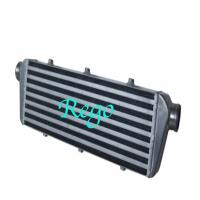 Wholesale 550mm X 140mm X 65mm Universal Intercooler , Black Front Mount Intercooler from china suppliers