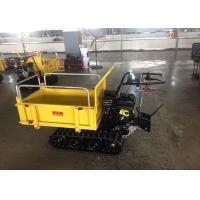 Wholesale Mechanical Transmission Case Concrete Dumper , Auto Turning Powered Wheelbarrow Tracked  from china suppliers