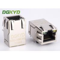 Wholesale Integrated magnetics RJ45 connector Single Port with transformer Modular Jack customized from china suppliers