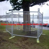 Quality portable metal fencing/temp fences/construction safety fence for sale