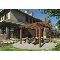 Wholesale DIY plastic wooden pergola construction for your garden 16.4ft.*10ft.*10ft.(OLDA-5022) from china suppliers