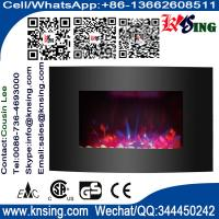 Wholesale Wall Mount Electric Fireplace Heater EF-11A/EF-11C remote control LED COLORFUL FLAME EFFECT ROOM HEATER INDOOR HEATER from china suppliers