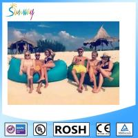 Wholesale Nylon Sunbathing Fabric Fast Inflatable Sleep Bag Outdoor Lawn from china suppliers