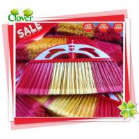 Wholesale Best seller custom design indoor cleaning tools colorful plastic broom from china suppliers