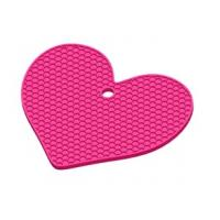 Wholesale Regular heartshaped Honeycomb silicone insulation pad from china suppliers