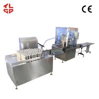 Wholesale 20CBM Automatic Aerosol Filling Machine , Spray / Aerosol Paint Can Filling Machine from china suppliers