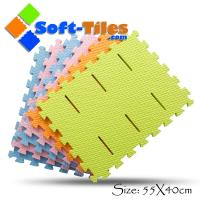 Wholesale EVA anti-slip foam bath mat non-toxic , anti-slip design with borders from china suppliers