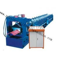 Wholesale 7.5Kw Tile Roof Ridge Cap Roll Forming Machine 0.3mm - 0.7mm for Steel Prefab House from china suppliers
