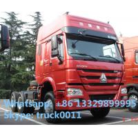 Wholesale HOWO  6*4 336hp semitrailer tractor head, hot sale best price SINO TRUK HOWO 6*4 336hp/371hp diesel tractor head from china suppliers