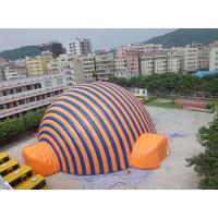 Wholesale High Temperature Resistance Dome Inflatable Tent / Inflatable Sport Tent For Commercial from china suppliers