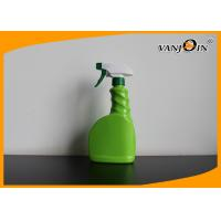 Wholesale 600ml Green Color PVC Plastic Pharmacy Bottles With Trigger Sprayer from china suppliers