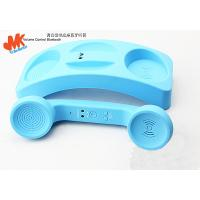 Wholesale Blue Retro Bluetooth Phone Handset, Pop Iphone 4 Handsets with on / off Button from china suppliers