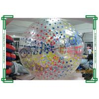 Wholesale Colorful Inflatable Rolling Ball / Zorb Hamster Ball Outdoor from china suppliers