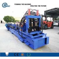 Wholesale Post Cutting Automatic System C Shape Channel C Purlin Roll Forming Machine from china suppliers