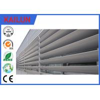Wholesale 8 HW Hardness External 6000 T5 Aluminum Louvered Shutters For Building Facade Window from china suppliers