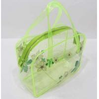 Wholesale PVC Tote Bag, Jelly Cute Transparent Crystal Beach Bag,  Ladies toilet bag from china suppliers
