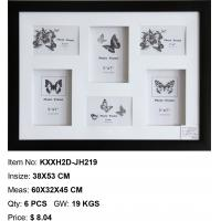 Wholesale 3d photo frame 6 opening photo frame multi photo frame home decor wholesale photo frame from china suppliers