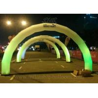 Wholesale FireRetardant Inflatable Arch , LED Lighting Airblown Arch EN14960 from china suppliers