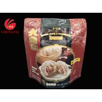 Wholesale Food Grade Stand Up Pouch With Zipper For Bun Packaging Frozen Available from china suppliers