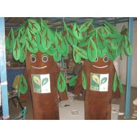 Wholesale adult plush customized tree mascot costumes of custom design from china suppliers